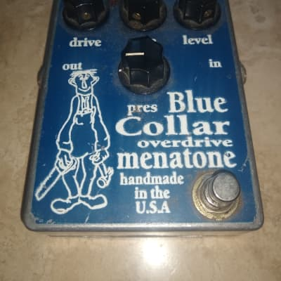Menatone Blue Collar Overdrive '80s Rare Skinny Guy Original Box