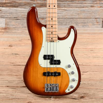 Fender American Elite Precision Bass Ash Tobacco Burst 2017 for sale