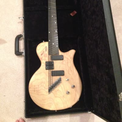 Novax Charlie Hunter CH8  8-string guitar/bass 2006 Natural Swamp Ash (fanned fret, Mayer) for sale