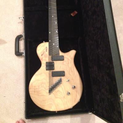 Novax Charlie Hunter CH8  8-string guitar/bass 2006 Natural Swamp Ash (fanned fret, Mayer) for sale
