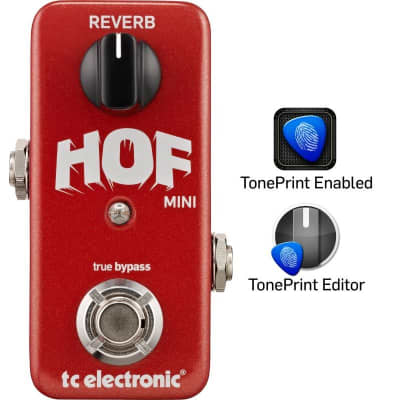 TC Electronic Hall Of Fame Mini Reverb Pedal for sale
