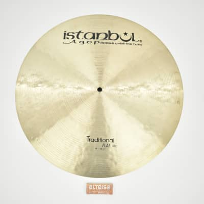 """Istanbul Agop 19"""" traditional flat ride 1699gr"""