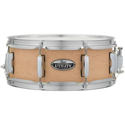 """Pearl MUS1350M Modern Utility 13x5"""" Maple Snare Drum"""