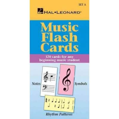 Music Flash Cards: 120 Cards for Any Beginning Music Student - Set A