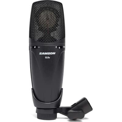 Samson Large Diaphragm MultiPattern Studio Condenser Microphone