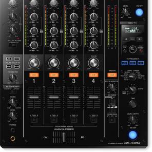 Pioneer DJM-750MK2 4-channel DJ Mixer 750 Mk2