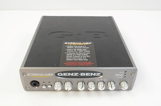 genz benz streamliner 900 stm 900 900 watt bass amplifier reverb. Black Bedroom Furniture Sets. Home Design Ideas
