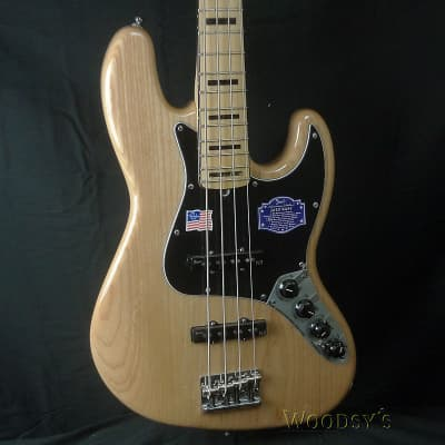 Fender American Deluxe Jazz Bass - Natural for sale