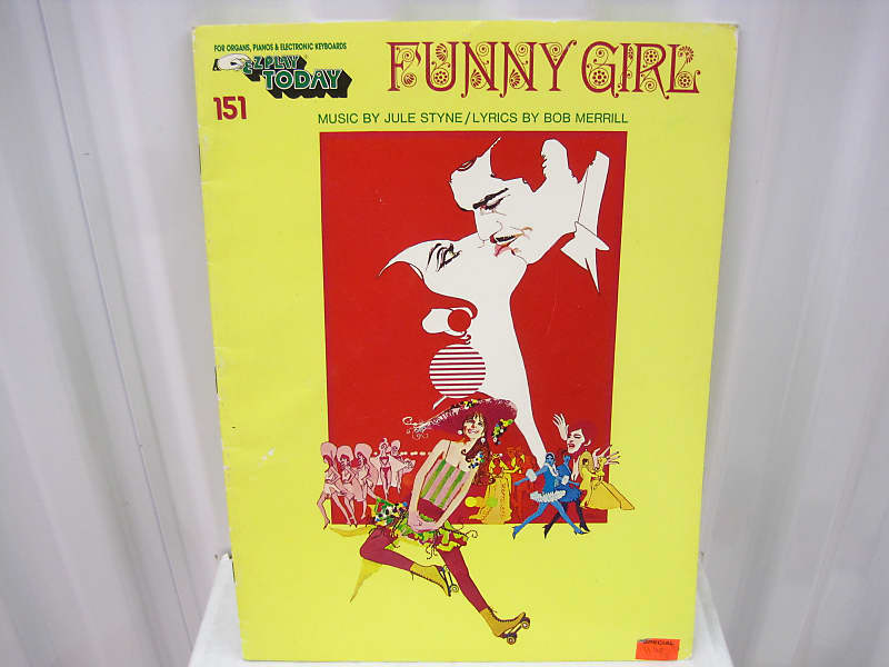 Funny Girl EZ Play Today 151 Easy Piano Sheet Music Song Book Songbook