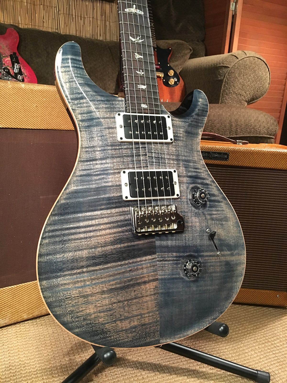 Paul Reed Smith Custom 24 Faded Whale Blue