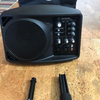 Mackie SRM150 Compact 150-Watt Active PA Speaker w/ Case and Accessories!