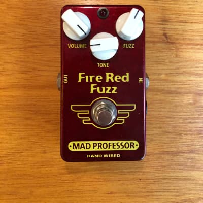 Fire Red Fuzz - Hand Wired