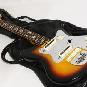 Excellent 1960s Guyatone LG-65T Electric Guitar Ref No 1144 for sale
