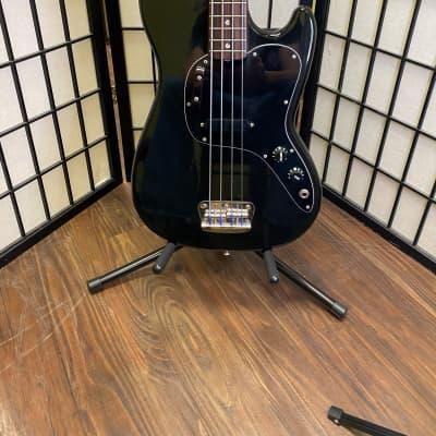 Fender Musicmaster Short Scale 4 String  Bass w/Gator Gigbag 1978 Blk for sale