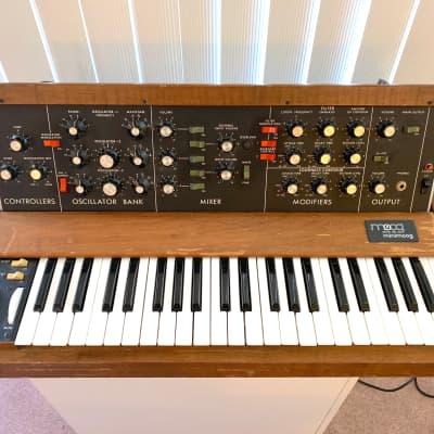 Moog Minimoog Model D Vintage OLD OSC 6xxx w/MIDI + OPTOKEY
