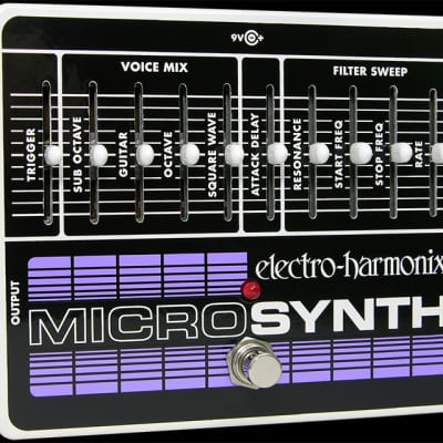 Electro Harmonix Micro Synthesizer Pedal for sale