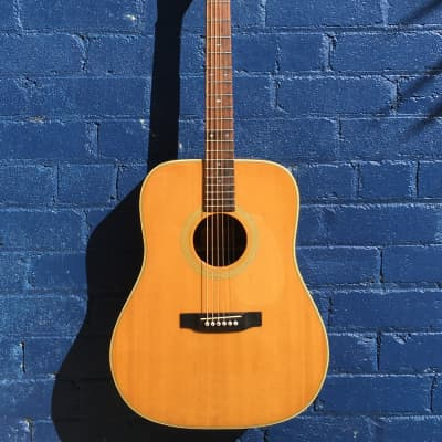 Bluebell W-350 1970s MIJ - Solid-spruce top for sale