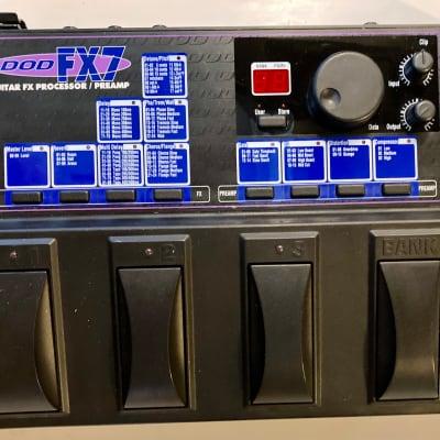 DOD FX7 Guitar FX Processor/Preamp for sale