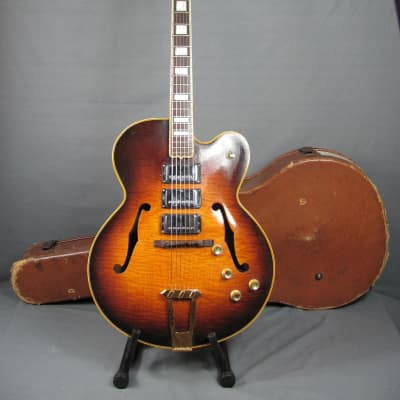 Gibson  ES 5 With OHSC  1950 Sunburst    3 Patent Number Humbucker Pickups