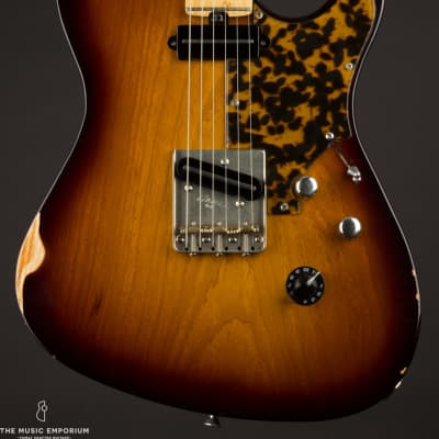 Asher T-Deluxe 50's Tobacco Burst