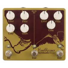 EarthQuaker Devices Hoof Reaper V2 Dual Fuzz Octave Guitar Effect Pedal Stompbox