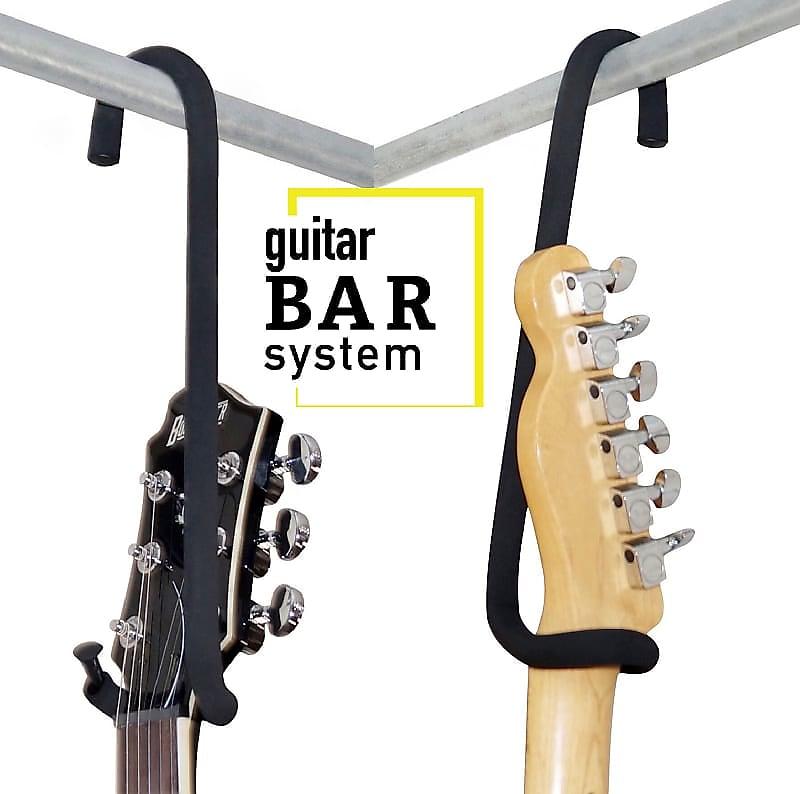 Guitar Bar Hanger Display Electric Acoustic 4 String Base Banjo Mandolin...Closet, Rack or Custom..