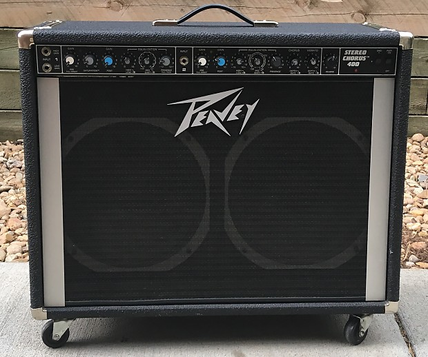 peavey stereo chorus 400 130 watt 2x12 guitar combo reverb. Black Bedroom Furniture Sets. Home Design Ideas