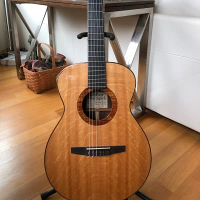 Mustapick Nylon String 2005 Bearclaw Sitka top, Cocobolo B/S for sale