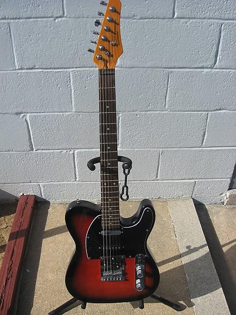sx vintage series nashville telecaster redburst guitar reverb. Black Bedroom Furniture Sets. Home Design Ideas