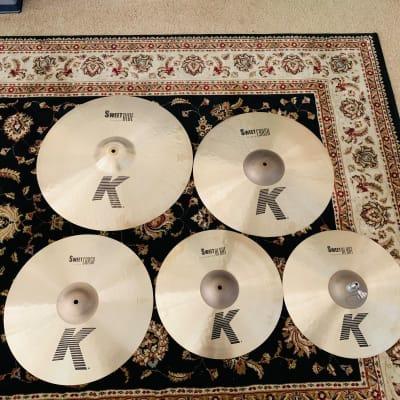 """Zildjian K Sweet Box Set 15/17/19/21"""" Cymbal Pack + Cymbal Bag"""