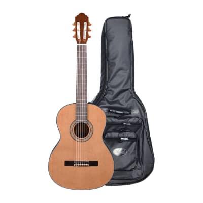 Artist HG39303 Classical Guitar Solid Cedar Top + High Grade Bag for sale