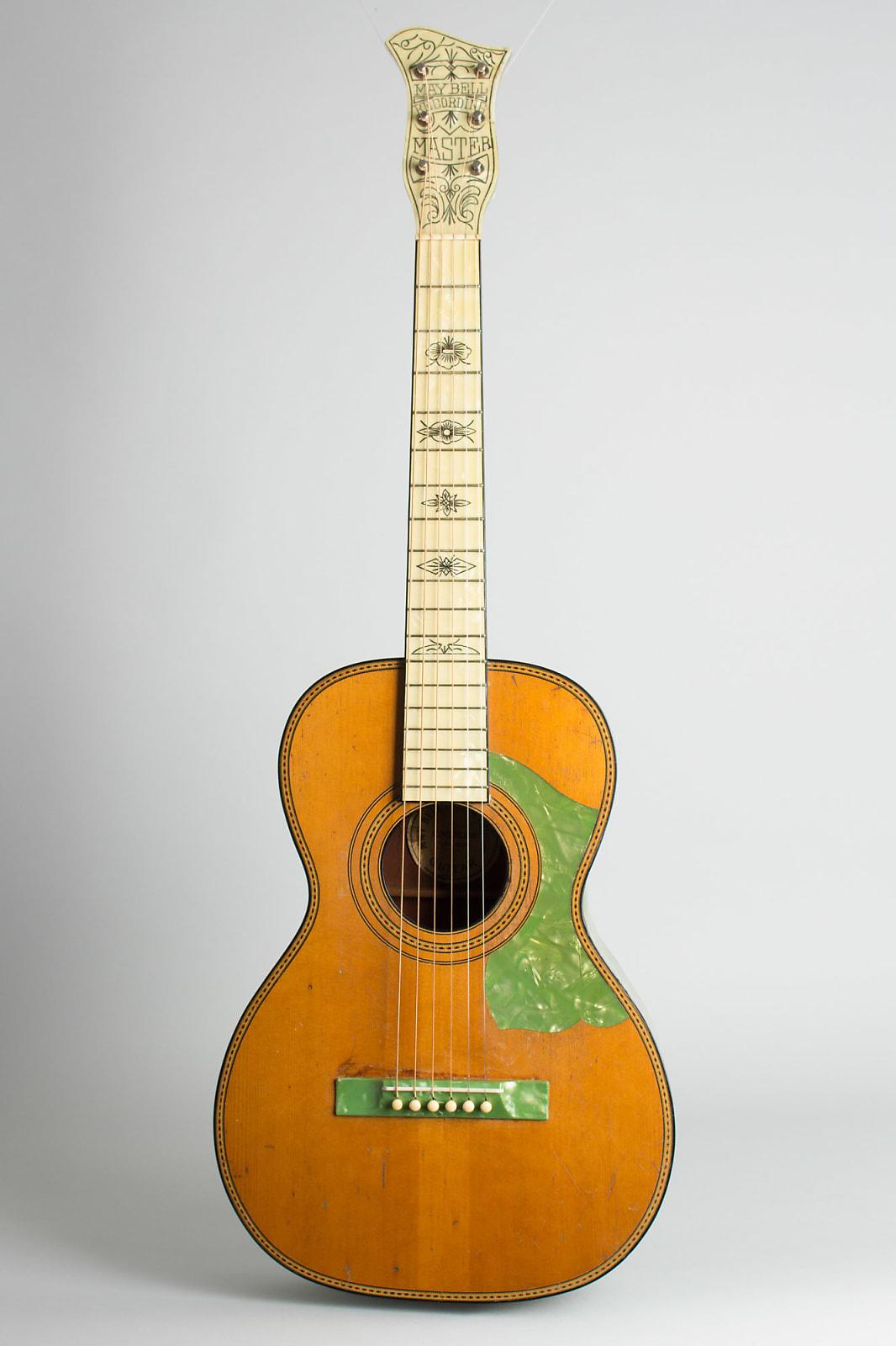 Slingerland  May Bell Recording Master Model #12 Flat Top Acoustic Guitar,  c. 1931