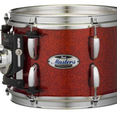 "Pearl Masters Maple Complete 22""x18"" Bass Drum - Vermilion Sparkle"