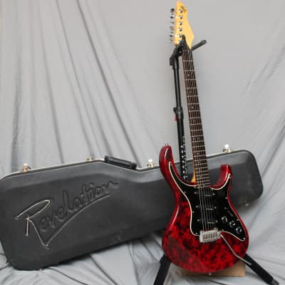 Hohner Revelation RTS 1993 Red Marble for sale