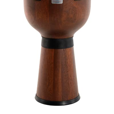 """Gon Bops 12"""" Mariano Series Djembe Hand Drum Durian Wood & Remo Black Suede Head 