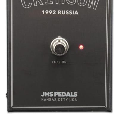 JHS Legends of Fuzz Crimson Fuzz Pedal