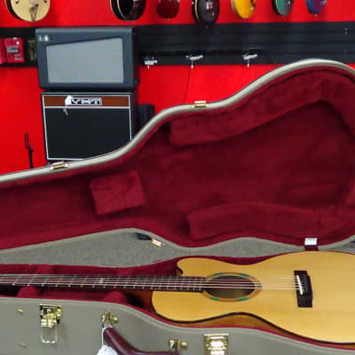 running dog guitars mini jumbo w/olive wood for sale