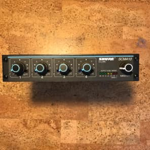 Shure SCM410 4-Channel Rack-Mountable Automatic Mic Mixer
