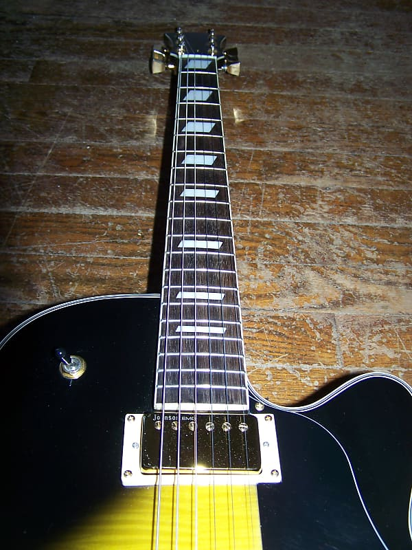 johnson las vegas model semi hollow body electric guitar reverb. Black Bedroom Furniture Sets. Home Design Ideas