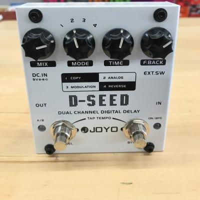 Joyo JOYO D-Seed Dual Channel Delay Pedal for sale