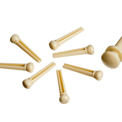 Planet Waves PWPS11 Bridge Pin Set - Ivory