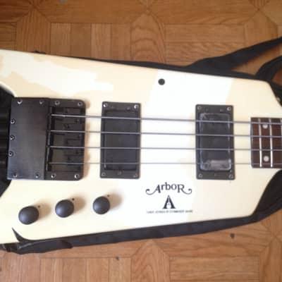 80's 1985 Arbor Headless Bass ULTRA RARE Black color for sale