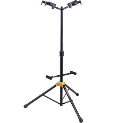 Hercules GS422BPLUS Plus Series Universal Duo Guitar Stand with AutoGrip