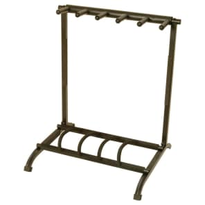 On-Stage GS7561 5-Space Foldable Muti-Guitar Rack