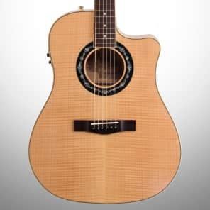 Fender T-Bucket 400CE Flamed Maple Acoustic/Electric Guitar — Natural