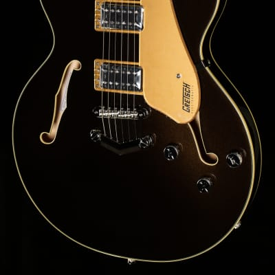 Gretsch G5622 Electromatic Center Block Double-Cut with V-Stoptail Laurel Fingerboard Black Gold - CYGC20120258-7.33 lbs