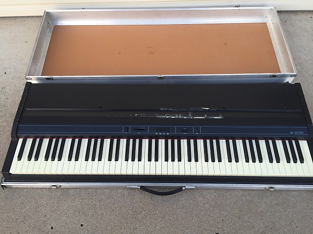 wersi grand piano 88 key keyboard synthesizer with hard case reverb. Black Bedroom Furniture Sets. Home Design Ideas