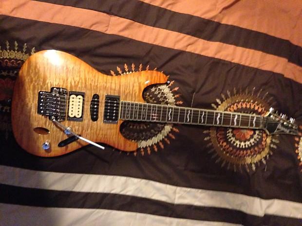 ibanez s470 dxqm electric guitar amazing dimarzio reverb. Black Bedroom Furniture Sets. Home Design Ideas