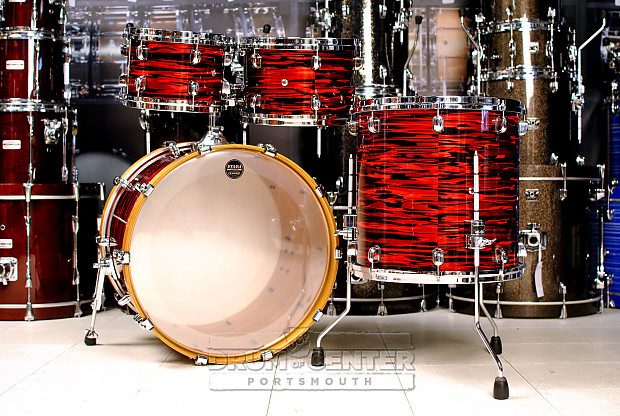 Tama Starclassic Performer Yesteryear 4pc Drum Set Red Oyster Reverb
