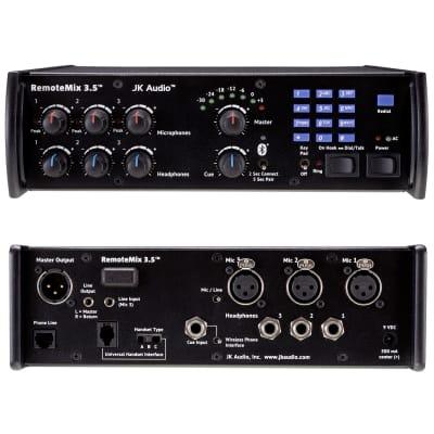 JK Audio RM3.5 RemoteMix 3.5 Portable Broadcast Mixer (B-Stock)